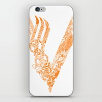 vikings iPhone & iPod Skins featuring Vikings by Fiorella Modolo