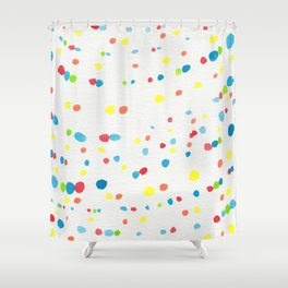 Dot Painting #society6 #buyart Shower Curtain