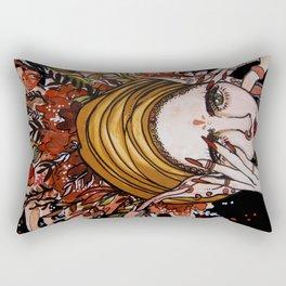 Floralbrain Rectangular Pillow