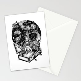 Cosmos Space Travel Stationery Cards