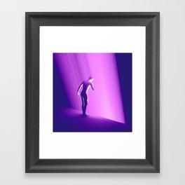 UV THOUGHTS Framed Art Print