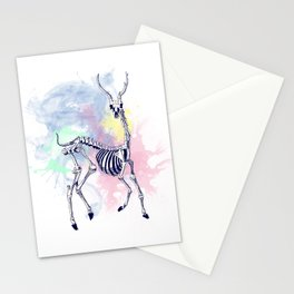 Oh deer skeleton #1 Stationery Cards