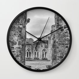 Netley Abbey. Wall Clock