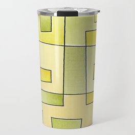 """Proto pattern n 2 """"fresh lemonade"""" Travel Mug"""