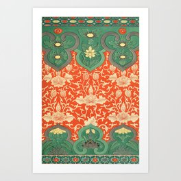 Examples of Chinese Ornament XCIV Art Print