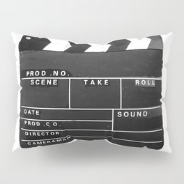 Film Movie Video production Clapper board Pillow Sham