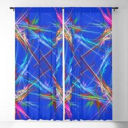 Fractal laser show Blackout Curtain