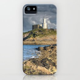 Swansea Lighthouse Mumbles iPhone Case
