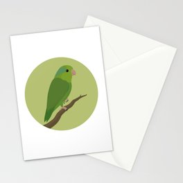 Pacific Parrotlet Stationery Cards