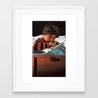 food Framed Art Prints featuring food by tareco