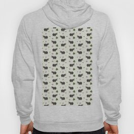 Hippos and Flowers Hoody