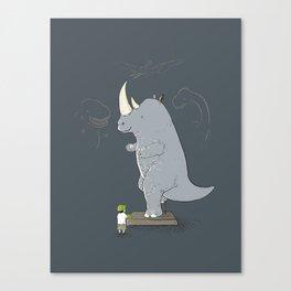 The Rhinosaurus Canvas Print
