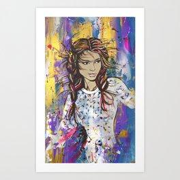 braids  Art Print