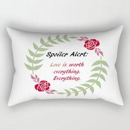 Love Is Everything Rectangular Pillow