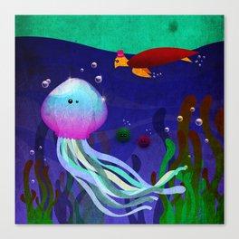 Mr. Jellyfish Canvas Print
