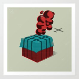 Supply Drop PUBG LOVE Art Print