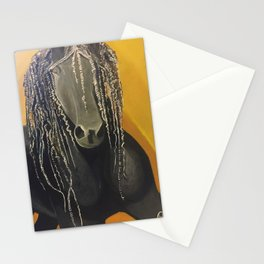Yellow Horse Stationery Cards