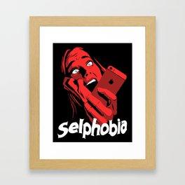 Selphobia Framed Art Print