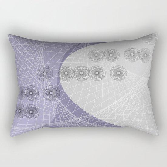 Purple Skyfall Rectangular Pillow