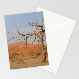 Namibia Desert with Sand Dunes Stationery Cards