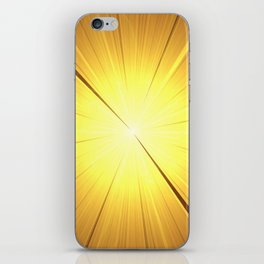 Blast Off To Enlightenment iPhone Skin