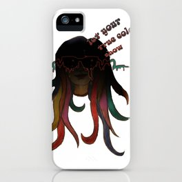 The Real You. iPhone Case