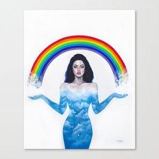 Creator of rainbows Canvas Print