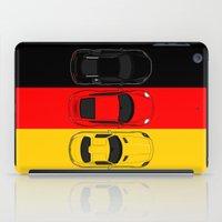 german iPad Cases featuring German Horsepower by Blayde