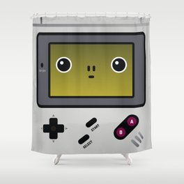 game boy Shower Curtain