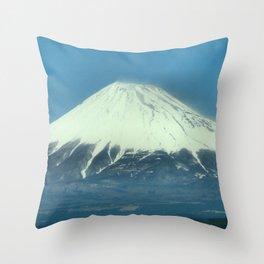 富士山 (Mt. Fuji) Japan Throw Pillow