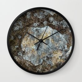 Old stone wall Wall Clock