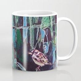 Small Brown Sparrow Coffee Mug