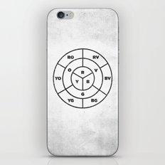 COLOR WHEEL JAMMIN' iPhone & iPod Skin