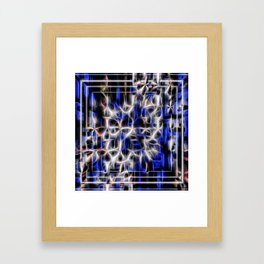 Digital Connections Framed Art Print