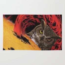 The Owls Are Not What They Seem Rug