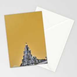 Liverpool Architecture #3 - Yellow Stationery Cards