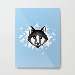 Wolfdog Metal Print