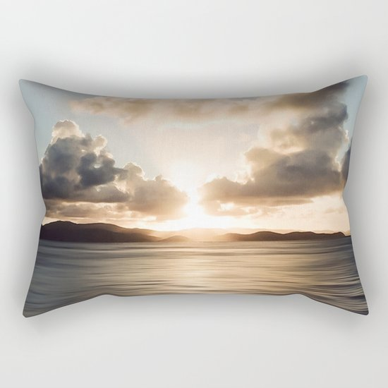 The light beckons Rectangular Pillow