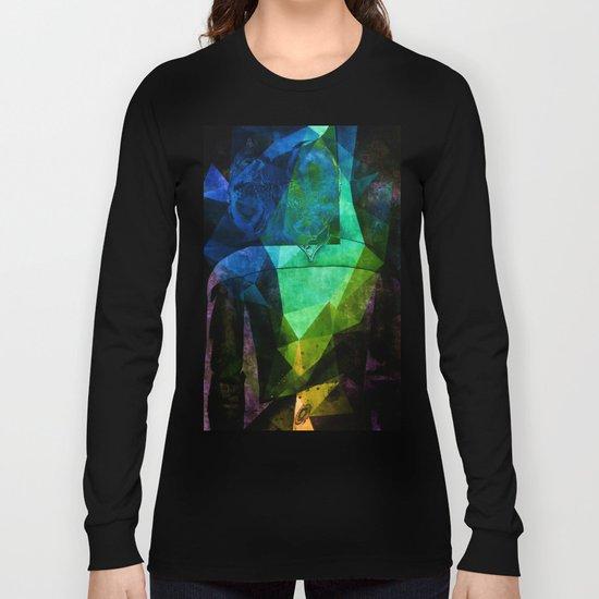 Alien Mindscape Long Sleeve T-shirt