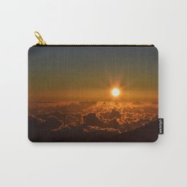Sunrise At Haleakala Crater Carry-All Pouch