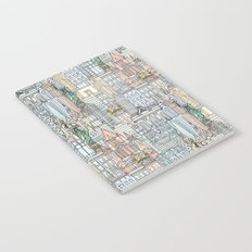 New York watercolor Notebook