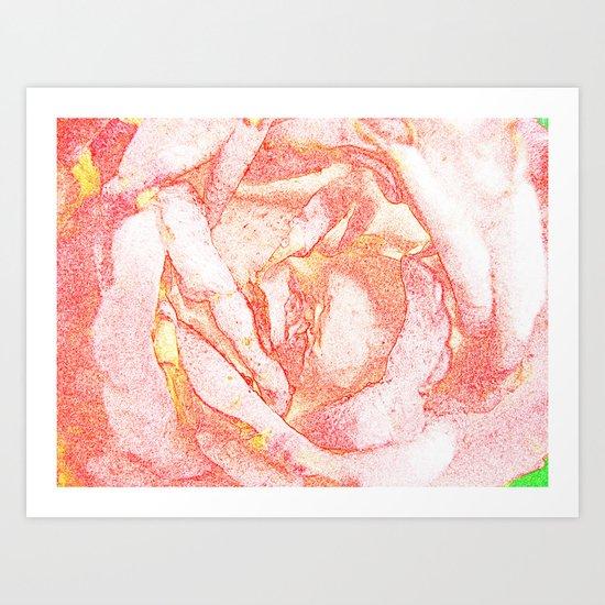 TENDER FLOWER Art Print