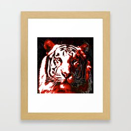 Ty- Grrr Framed Art Print
