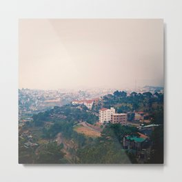 DALAT IN THE FOG Metal Print