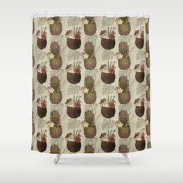 Pineapple Pina Coladas Shower Curtain