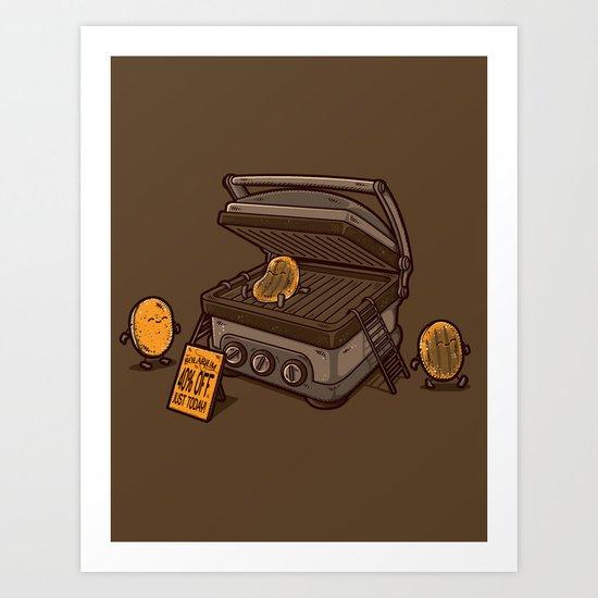 PANCAKES!! Art Print