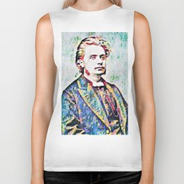 Edvard Grieg (1843 – 1907) digital Biker Tank