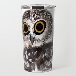 OWL painting Travel Mug