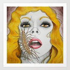 Chilopodophilia Art Print