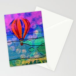 Hot Air Balloons #6 Stationery Cards